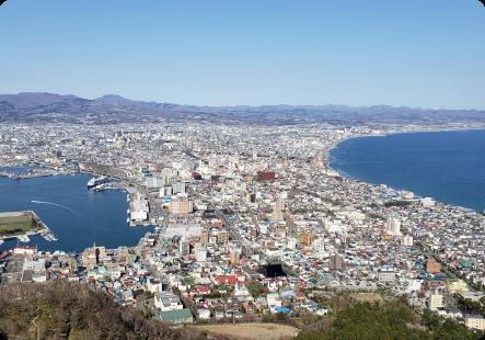 海とともに発展してきた北海道函館